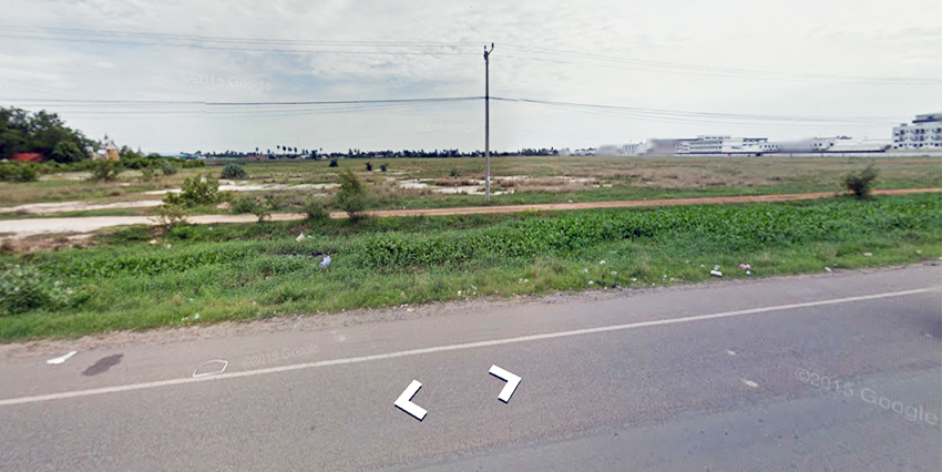 PP Airport| 22 Hectare Land on National Road 4