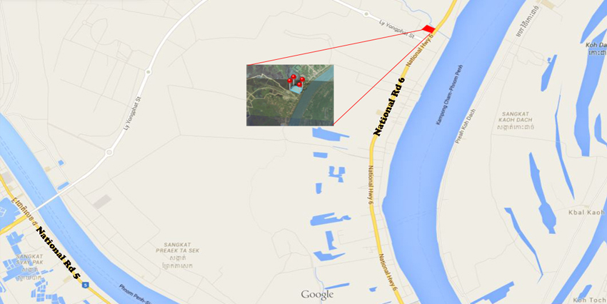 Industrial Location   30 Hect Land in Chroy Chongvar