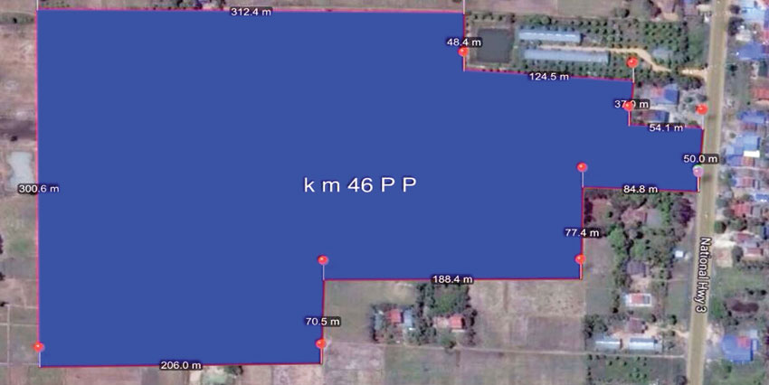 Land 12Ha National Road No.3 | 46km from Airport