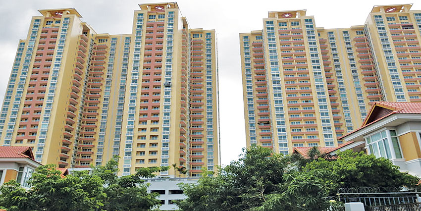 Rose Garden  |  3Bedrooms Condominium