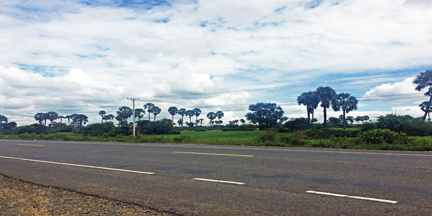 Empty Land   32km From Phnom Penh National Road 3