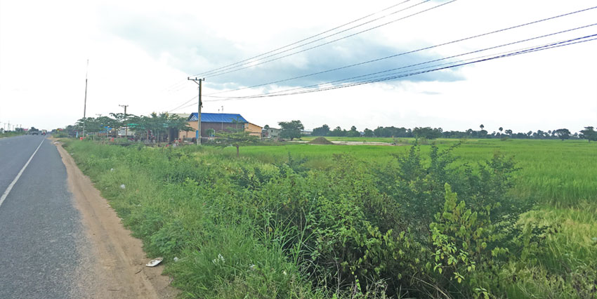 Empty Land     Land For Sale National Road 3