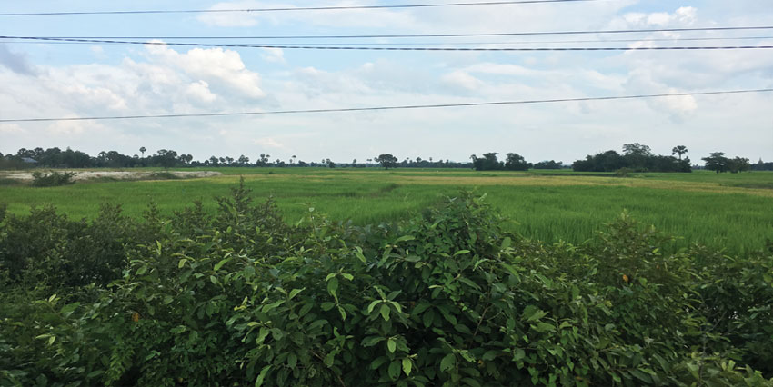 Empty Land | Land National Road 3 For Sale