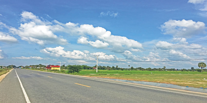 Empty Land  |  57km Land at National Road 3 For Sale