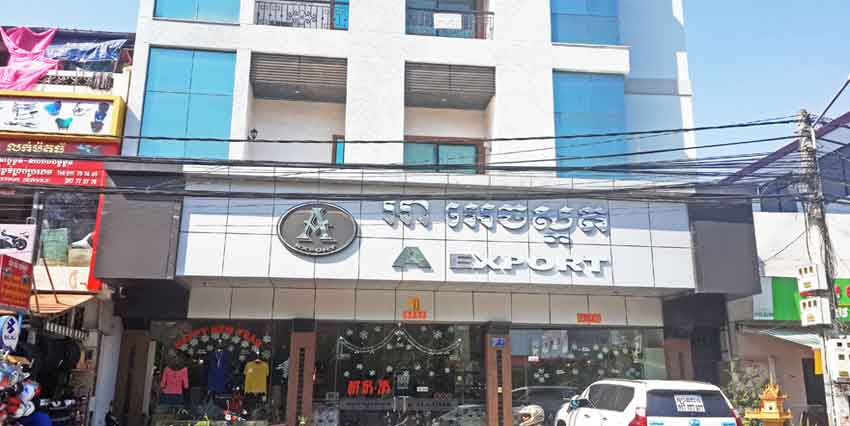 Tuol Tom Poung Market   Building For Rent