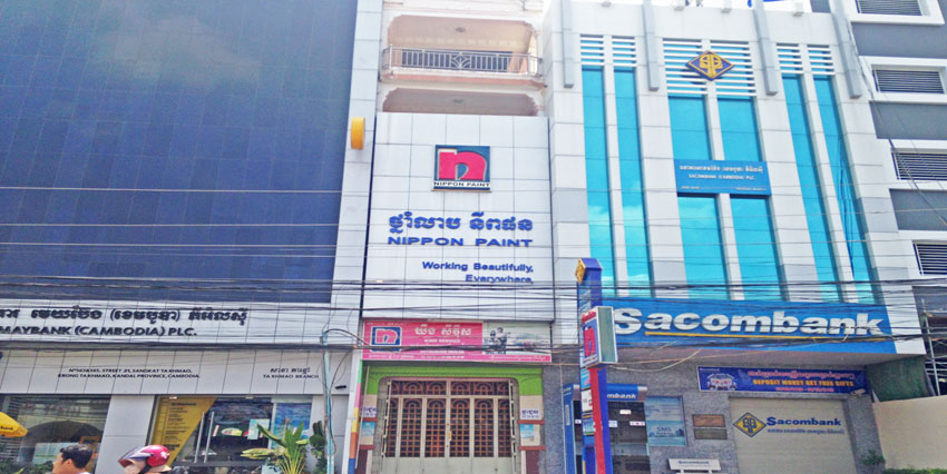 Ta Khmau Roundabout   Row House For Rent
