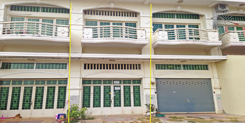 In Front Airport | Row House For Sale
