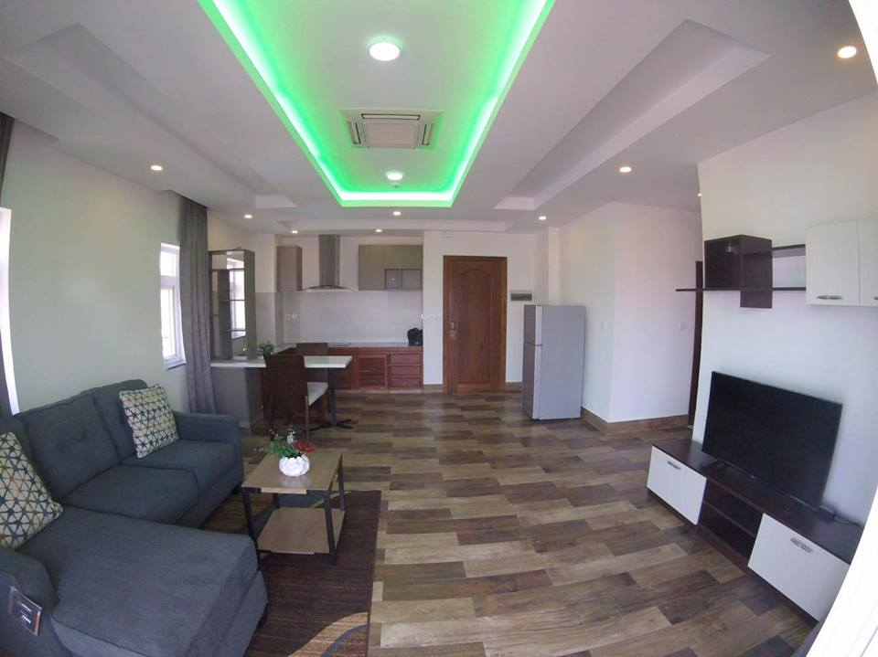 Near Phnom Penh Tower  Apartment For Rent