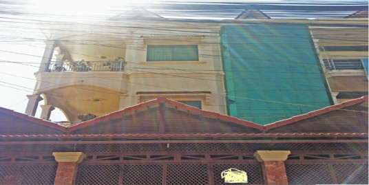 Near Wat Kean Khlaeng| 2 Row House For Rent