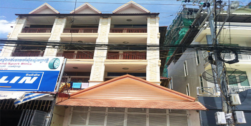 Peng Huoth TK| Row House For Rent